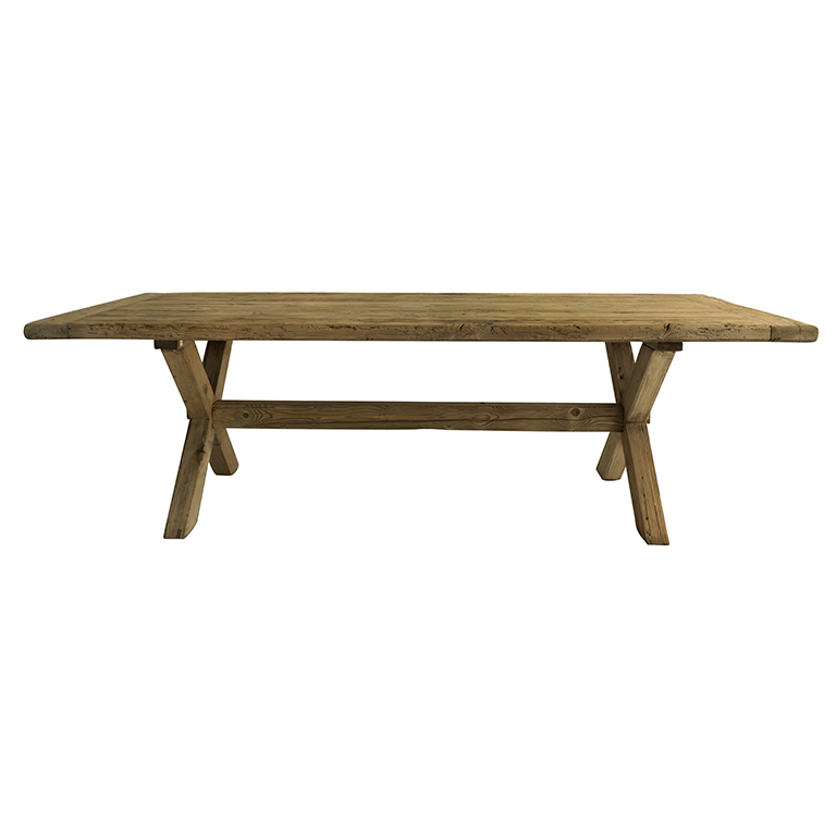 Snowdrops Copenhagen  DINING TABLE XBASE - X base dining table